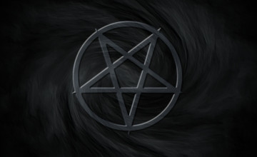 Inverted Pentagram Wallpaper