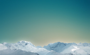 iOS 8 Mountain Wallpaper
