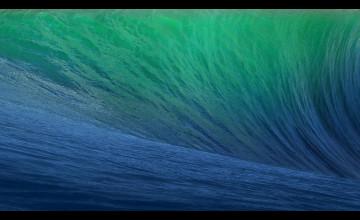 iOS 9 Wave Wallpaper