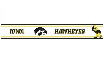 Iowa Hawkeye Wallpaper Border