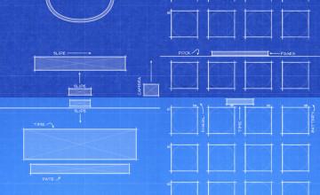 iPhone 6 Blueprint Wallpaper