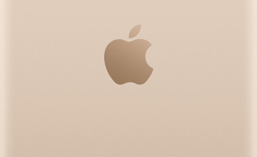 iPhone 6 Plus Gold Wallpaper