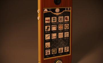 iPhone Steampunk Wallpaper