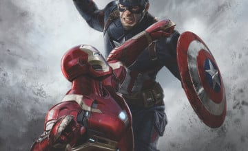 Iron Man Vs Captain America Wallpapers