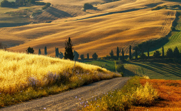 Italy Countryside Wallpaper
