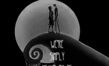 Jack Skellington and Sally Wallpaper