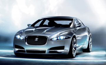 Jaguar XF Wallpaper