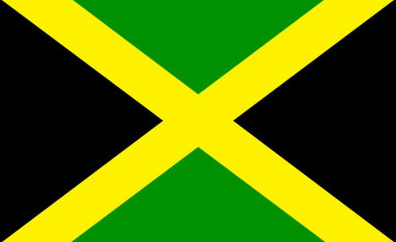 Jamaica Flags Wallpaper Background