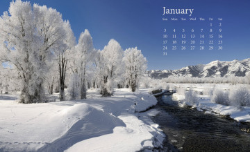 January 2016 Wallpaper for Computer