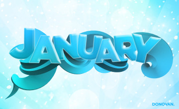January Wallpaper