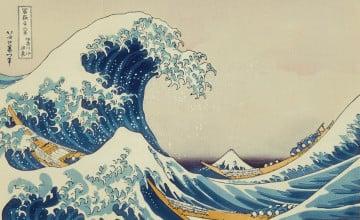 Japanese Wave Wallpaper