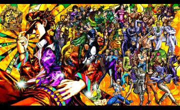 JJBA Wallpaper