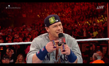 John Cena WWE WrestleMania 35 Wallpapers