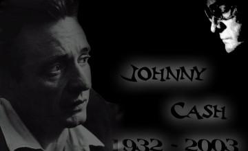 Johnny Cash Middle Finger Wallpaper