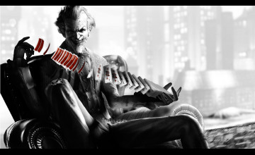 Joker Arkham Wallpaper
