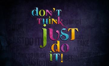 Just Do It Wallpaper HD