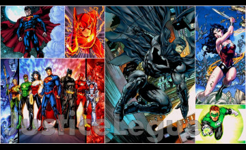 Justice League Wallpaper New 52