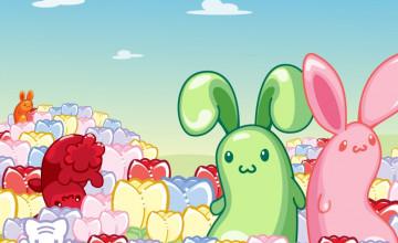 Kawaii Bunny Wallpaper