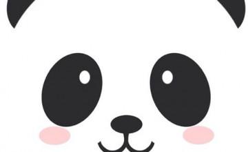 Kawaii Panda iPhone Wallpaper