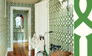 Kelly Wearstler Imperial Trellis Wallpaper