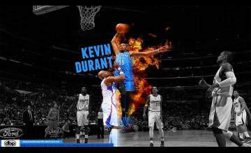 Kevin Durant Dunk Wallpaper 2016