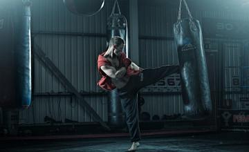 Kickboxer Wallpaper
