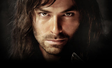 Kili and Tauriel Wallpaper