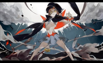 Kill La Kill Mako Wallpaper