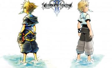 Kingdom Hearts 2 Roxas Wallpaper