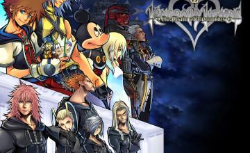 Kingdom Hearts Backgrounds