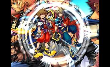 Kingdom Hearts Live Wallpaper