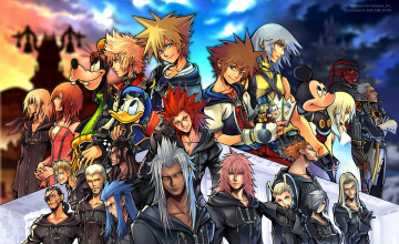 Kingdom Hearts PSP Wallpaper
