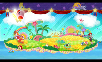 Kirby Background