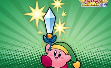 Kirby Super Star Ultra Wallpaper