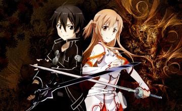 Kirito and Asuna Wallpaper
