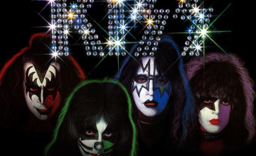 Kiss Wallpaper for Desktop