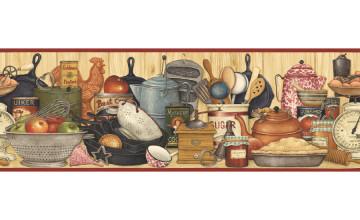 Kitchen Border Wallpaper Border