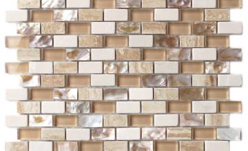Kitchen Wallpaper Looks Like Tile