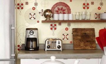 Kitchen Washable Wallpaper
