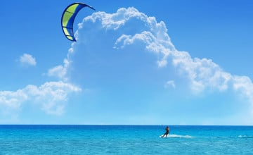 Kite Surfing Wallpaper