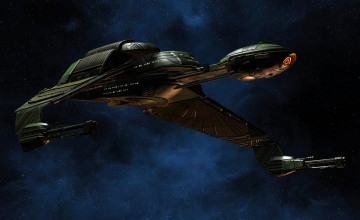 Klingon Bird of Prey Wallpaper