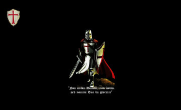 Knights Templar Wallpaper 1280x800
