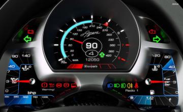 Koenigsegg Speedometer Wallpapers