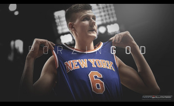 Kristaps Porzingis Knicks Wallpaper
