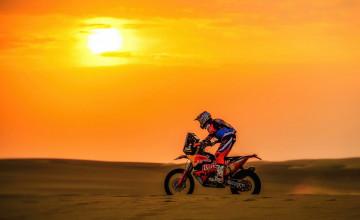 KTM Bike Sunset Wallpapers