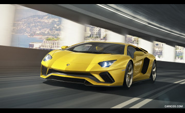 Lamborghini Aventador S Wallpapers