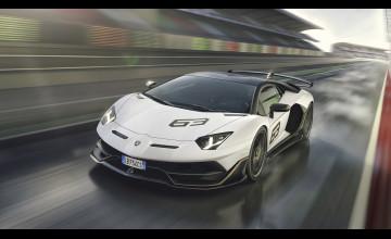 Lamborghini Aventador SVJ Wallpapers