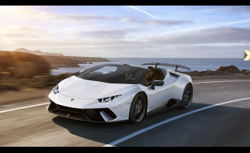 Lamborghini Huracán Spyder Performante Wallpapers