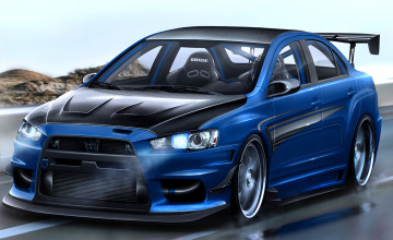 Lancer Evo Wallpaper