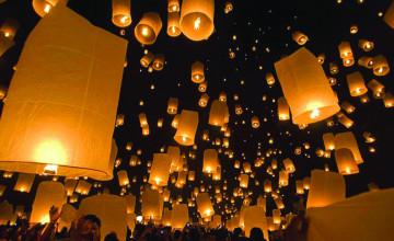 Lantern Wallpaper